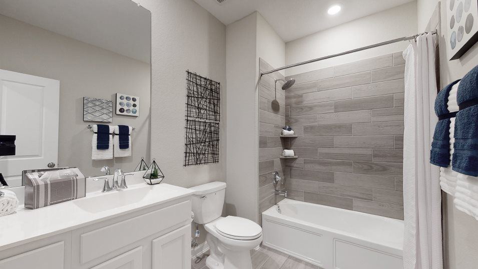 Bathroom featured in the Cabot By Lennar in Houston, TX