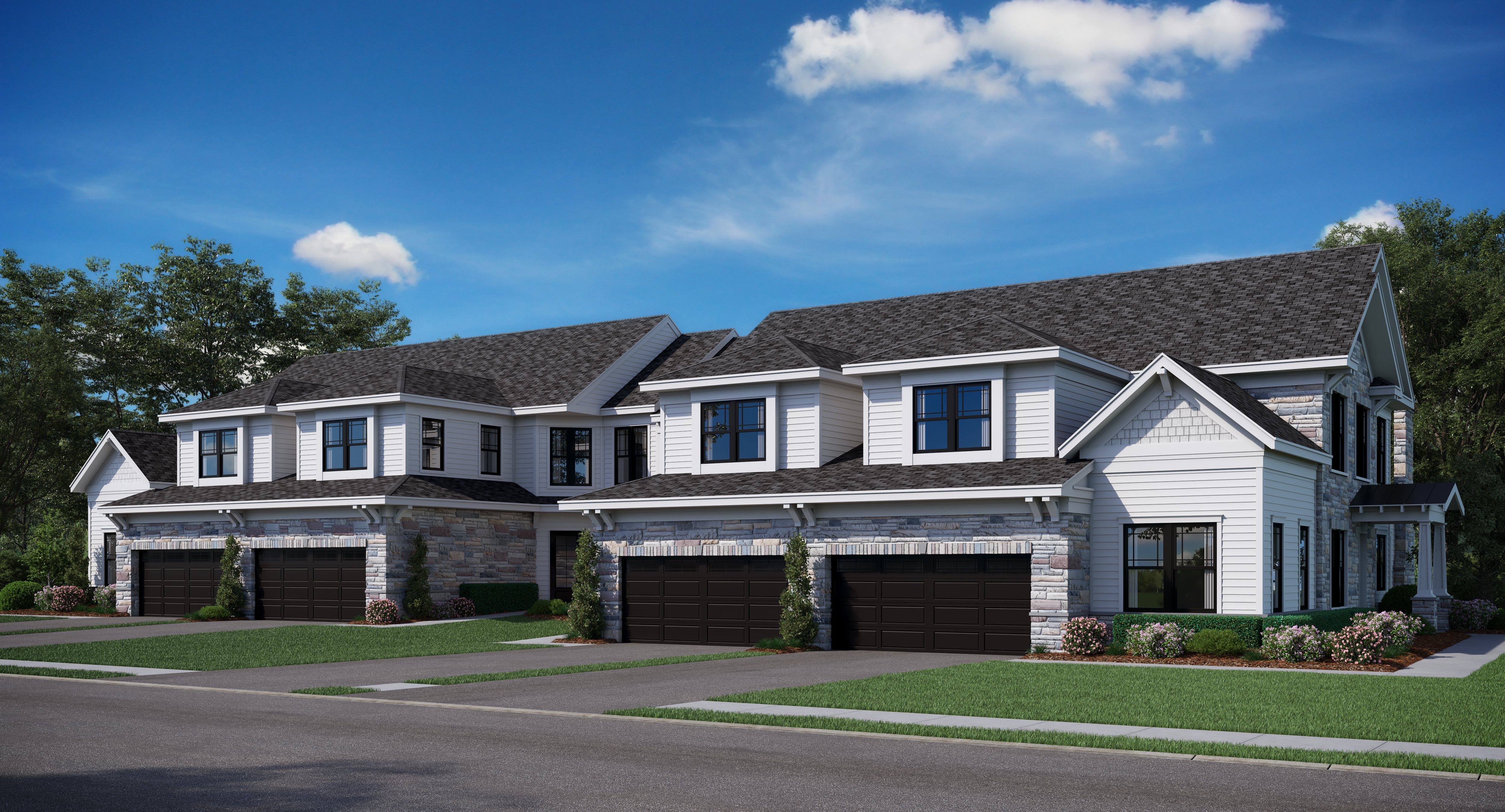 Exterior featured in the Cypress By Lennar in Mercer County, NJ