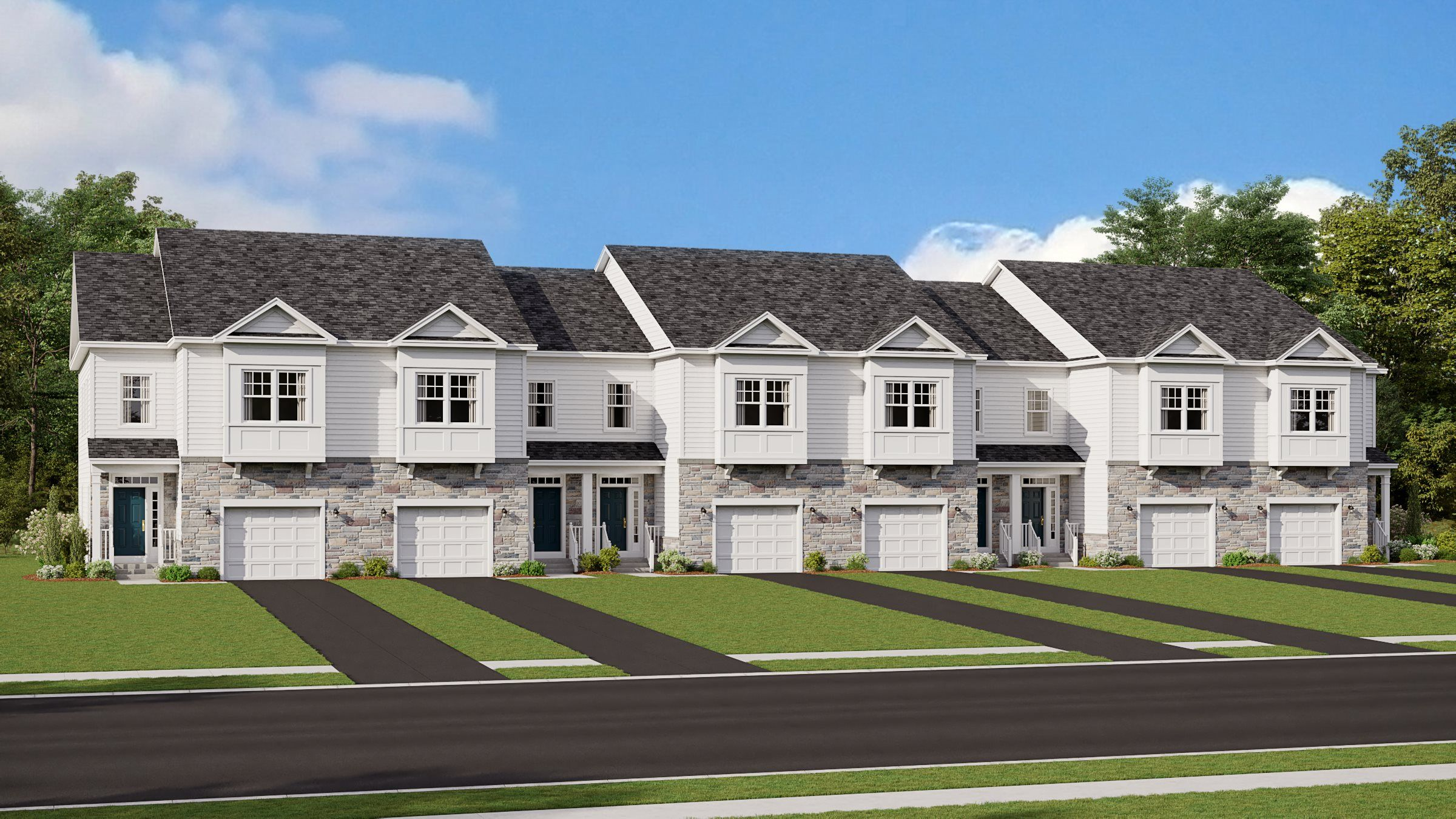 Exterior featured in the Arcadia By Lennar in Somerset County, NJ