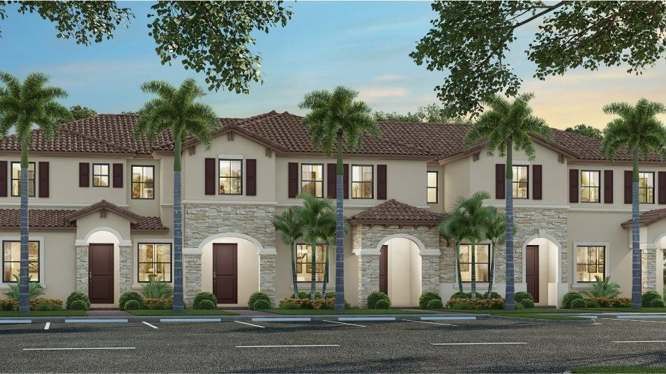Exterior featured in the Monte Carlo By Lennar in Miami-Dade County, FL