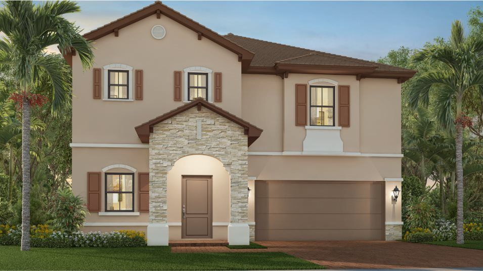 Exterior featured in the Santa Luzzia By Lennar in Miami-Dade County, FL