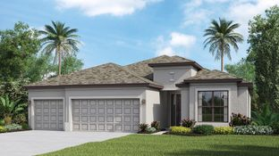 The Princeton II - Portico - Manor homes: Fort Myers, Florida - Lennar