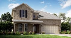 Alabaster III - Ashbel Cove at Baytown Crossings - Brookstone Collection: Baytown, Texas - Lennar