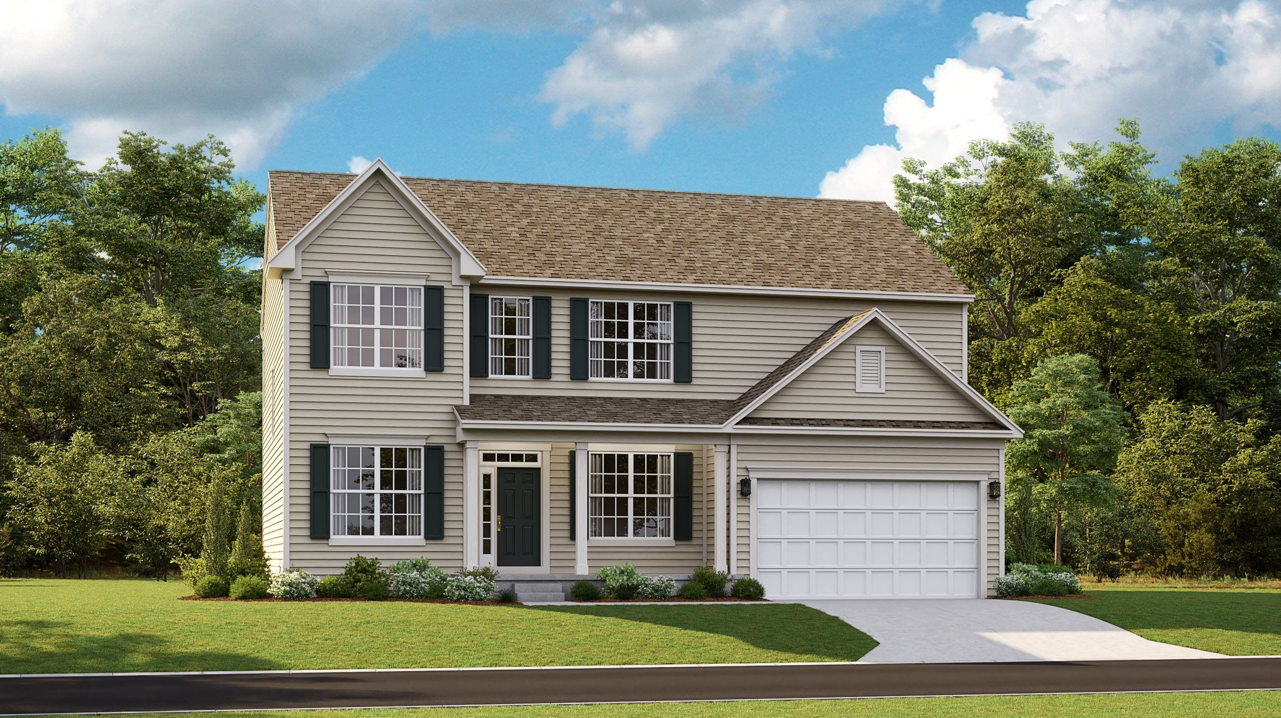 Exterior featured in the COLUMBIA By Lennar in Washington, WV