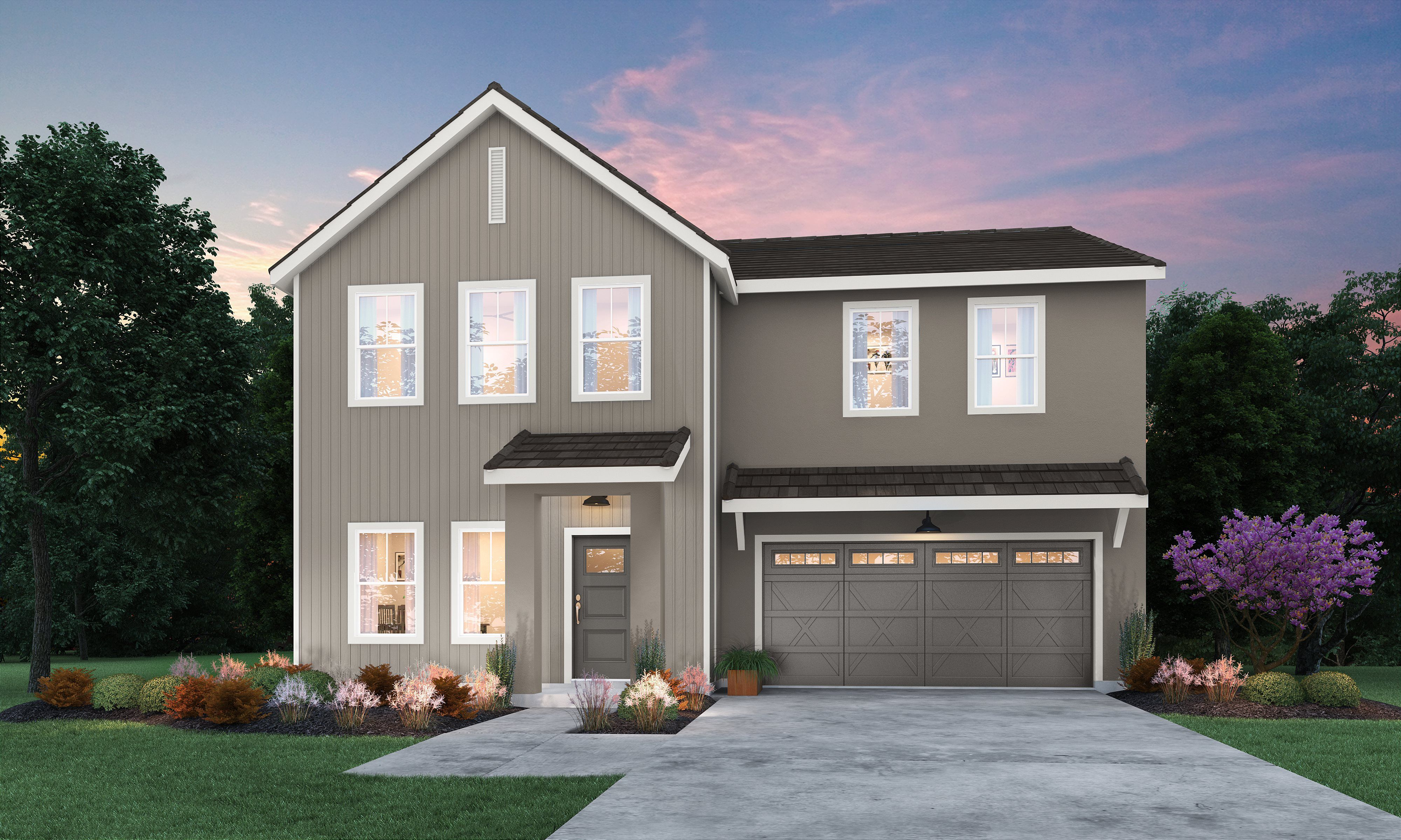 Exterior featured in the Persimmon By Lennar in Bakersfield, CA