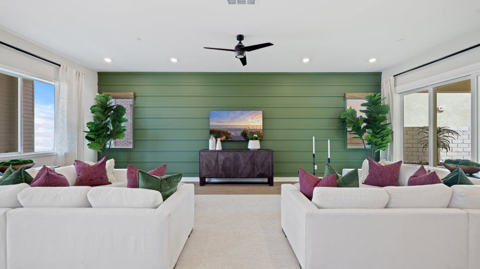 Living Area featured in the Siena 1 By Lennar in Los Angeles, CA