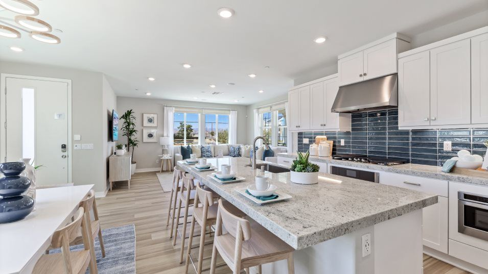 Kitchen featured in the Orchid 3 By Lennar in Los Angeles, CA