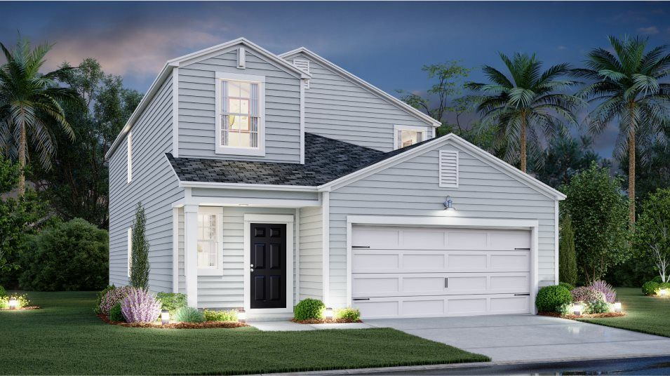 Exterior featured in the COLUMBIA By Lennar in Myrtle Beach, SC