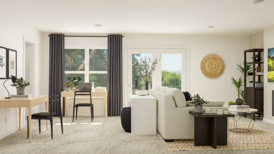 Living Area featured in the CHATHAM II By Lennar in Washington, VA