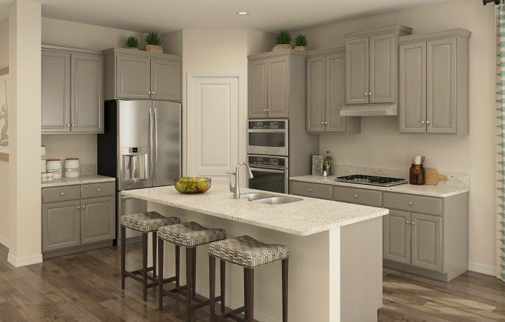 Kitchen featured in the Seville I By Lennar in Middlesex County, NJ