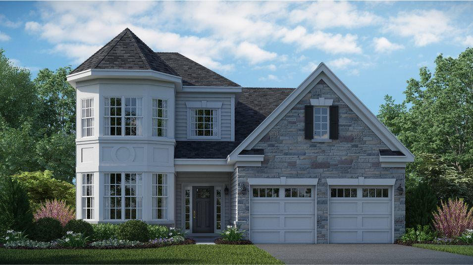 Exterior featured in the Capri By Lennar in Middlesex County, NJ