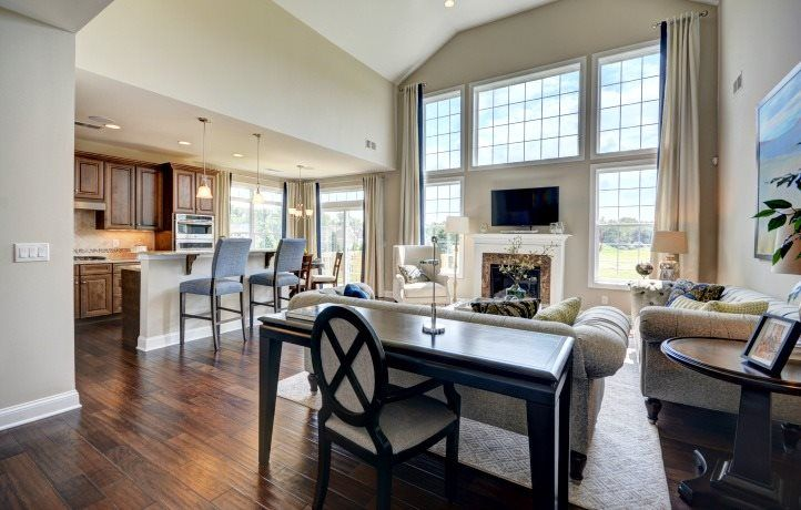 Living Area featured in the Capri By Lennar in Middlesex County, NJ