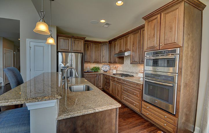Kitchen featured in the Capri By Lennar in Middlesex County, NJ