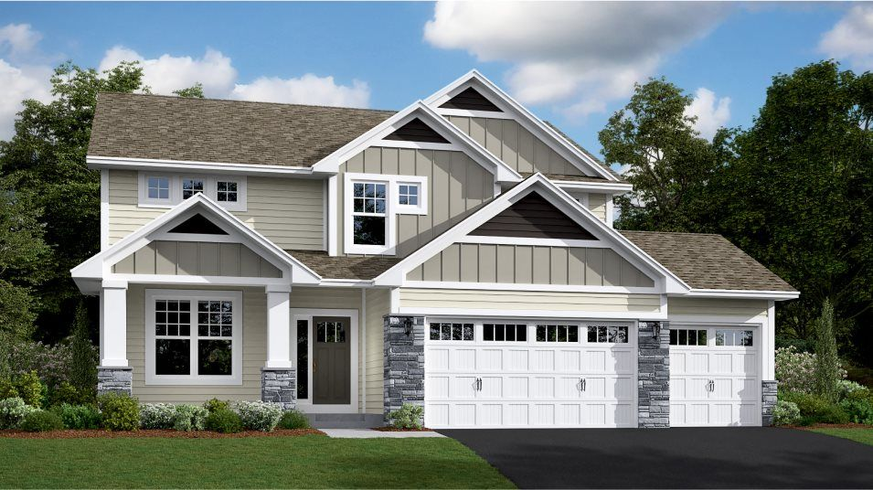 Exterior featured in the Lewis By Lennar in Minneapolis-St. Paul, MN
