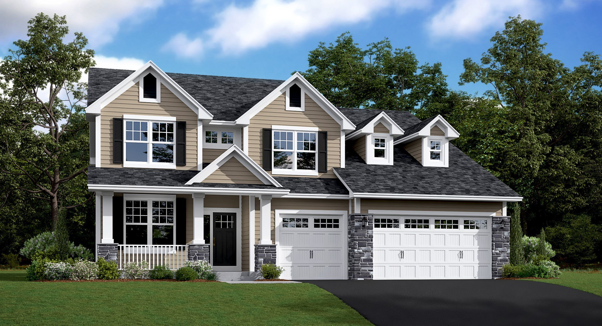 Exterior featured in the Snelling By Lennar in Minneapolis-St. Paul, MN
