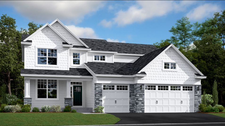 Exterior featured in the McKinley By Lennar in Minneapolis-St. Paul, MN