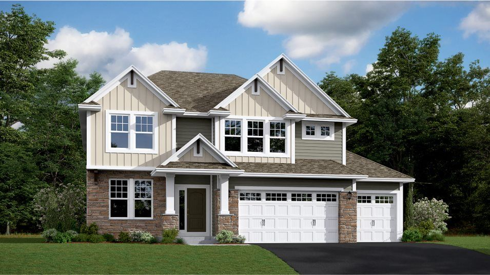 Exterior featured in the Washburn By Lennar in Minneapolis-St. Paul, MN