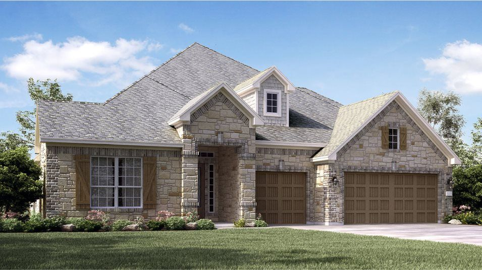Exterior featured in the Amethyst By Lennar in Houston, TX