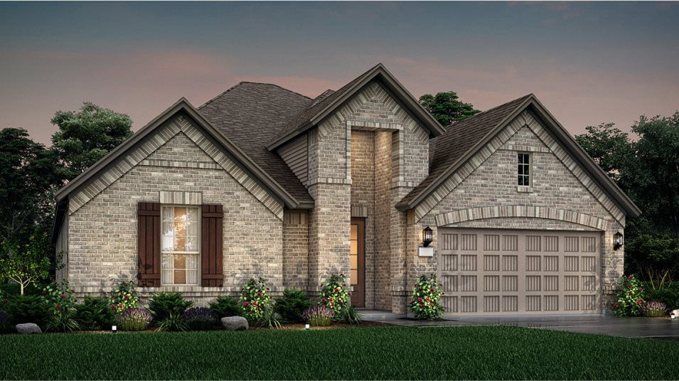 Exterior featured in the Cabot By Lennar in Houston, TX
