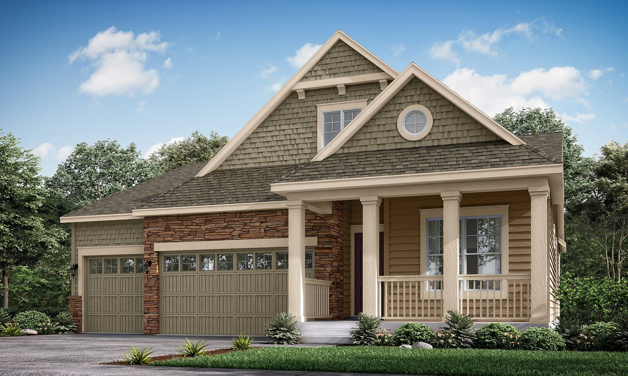 Exterior featured in the Hamilton By Lennar in Denver, CO