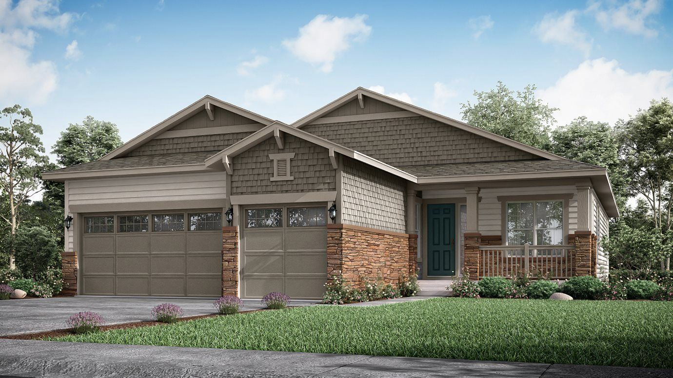 Exterior featured in the Newman By Lennar in Denver, CO