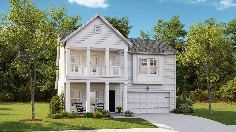 Exterior featured in the KENSINGTON By Lennar in Myrtle Beach, SC