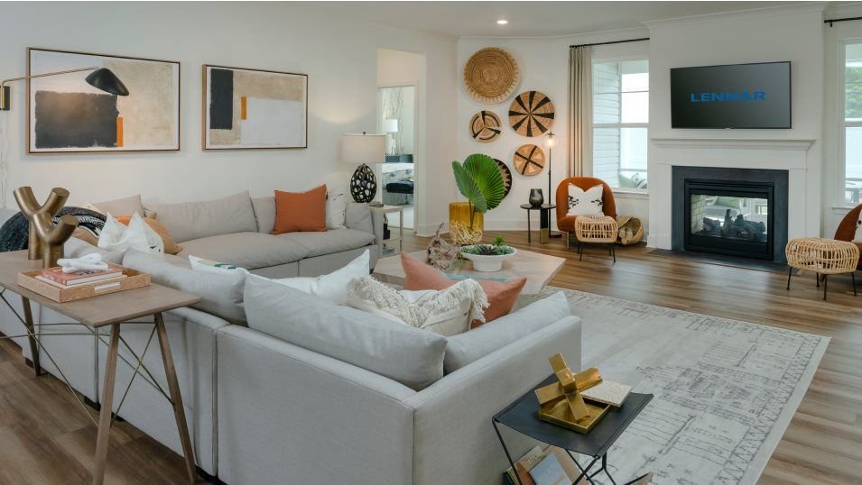 Living Area featured in the Tidewater Slab By Lennar in Sussex, DE