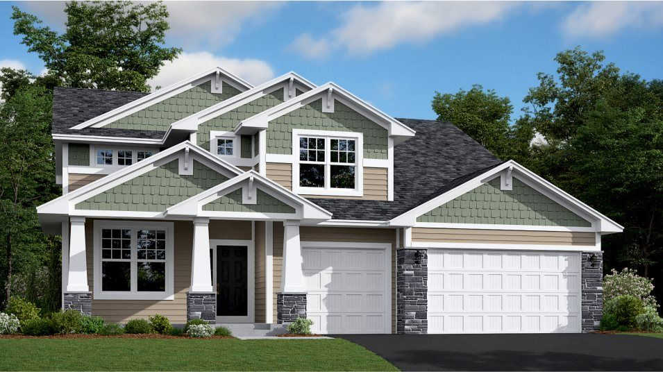 Exterior featured in the Summit By Lennar in Minneapolis-St. Paul, MN