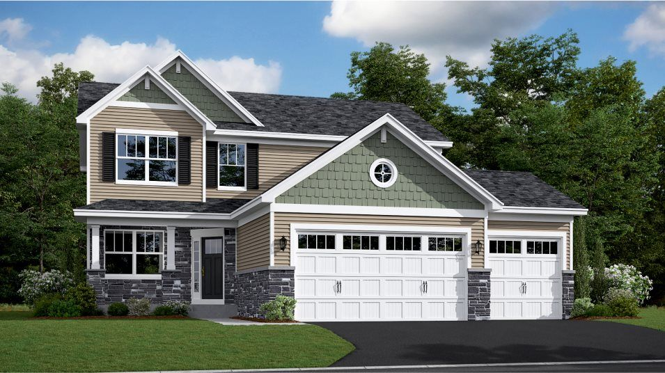 Exterior featured in the Springfield By Lennar in Minneapolis-St. Paul, MN