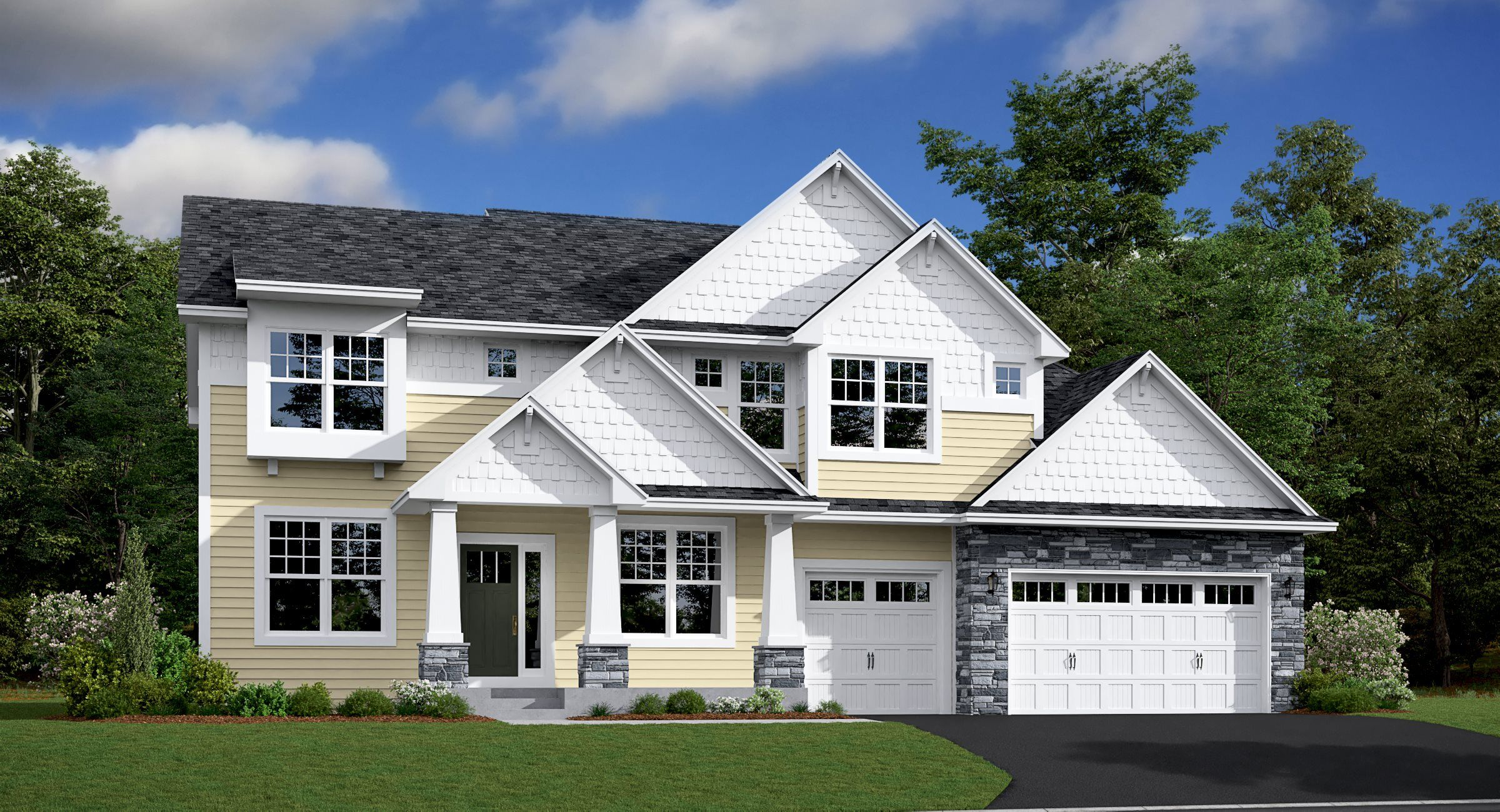 Exterior featured in the Blakely By Lennar in Minneapolis-St. Paul, MN