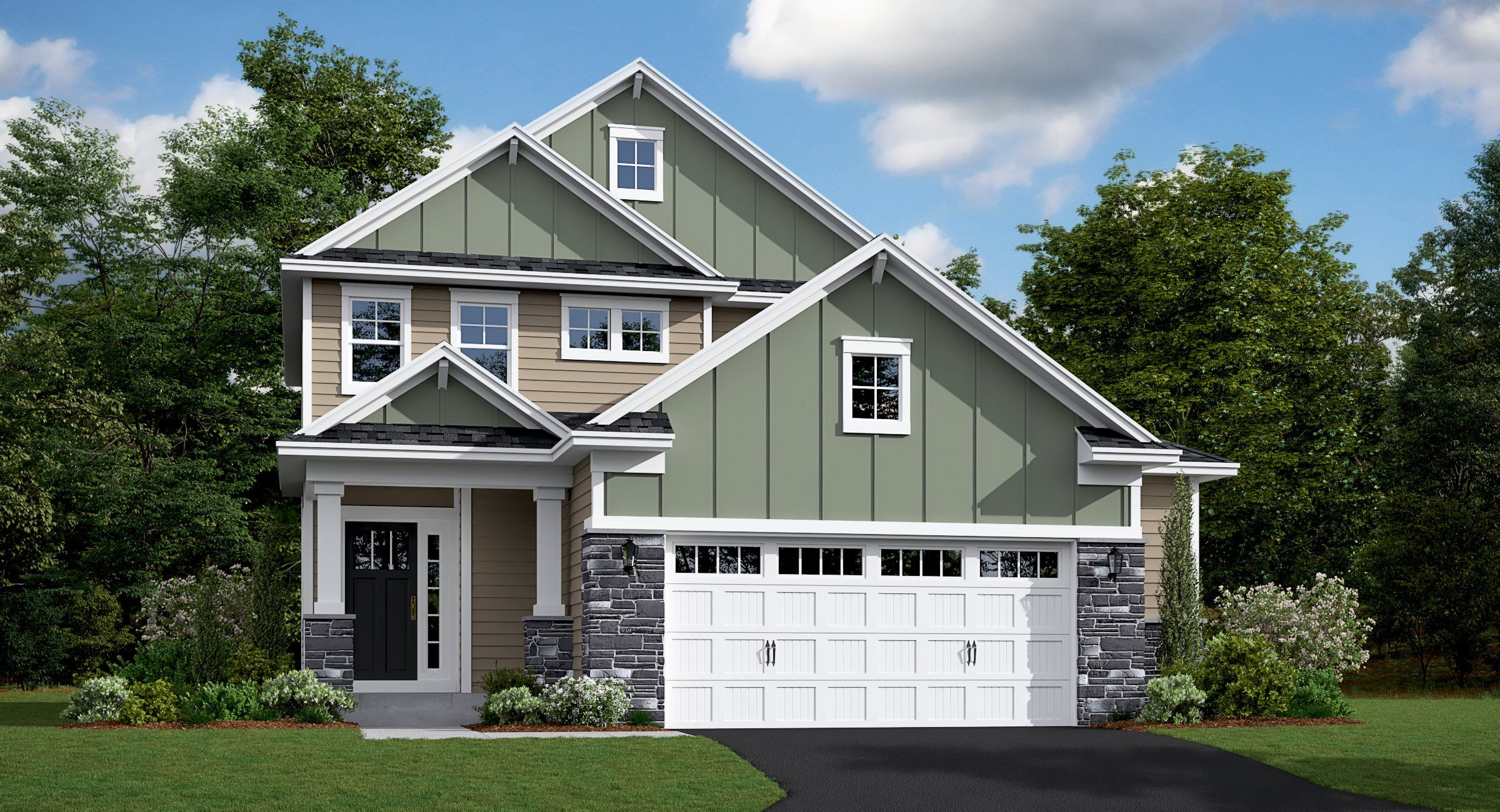 Exterior featured in the Bryce By Lennar in Minneapolis-St. Paul, MN