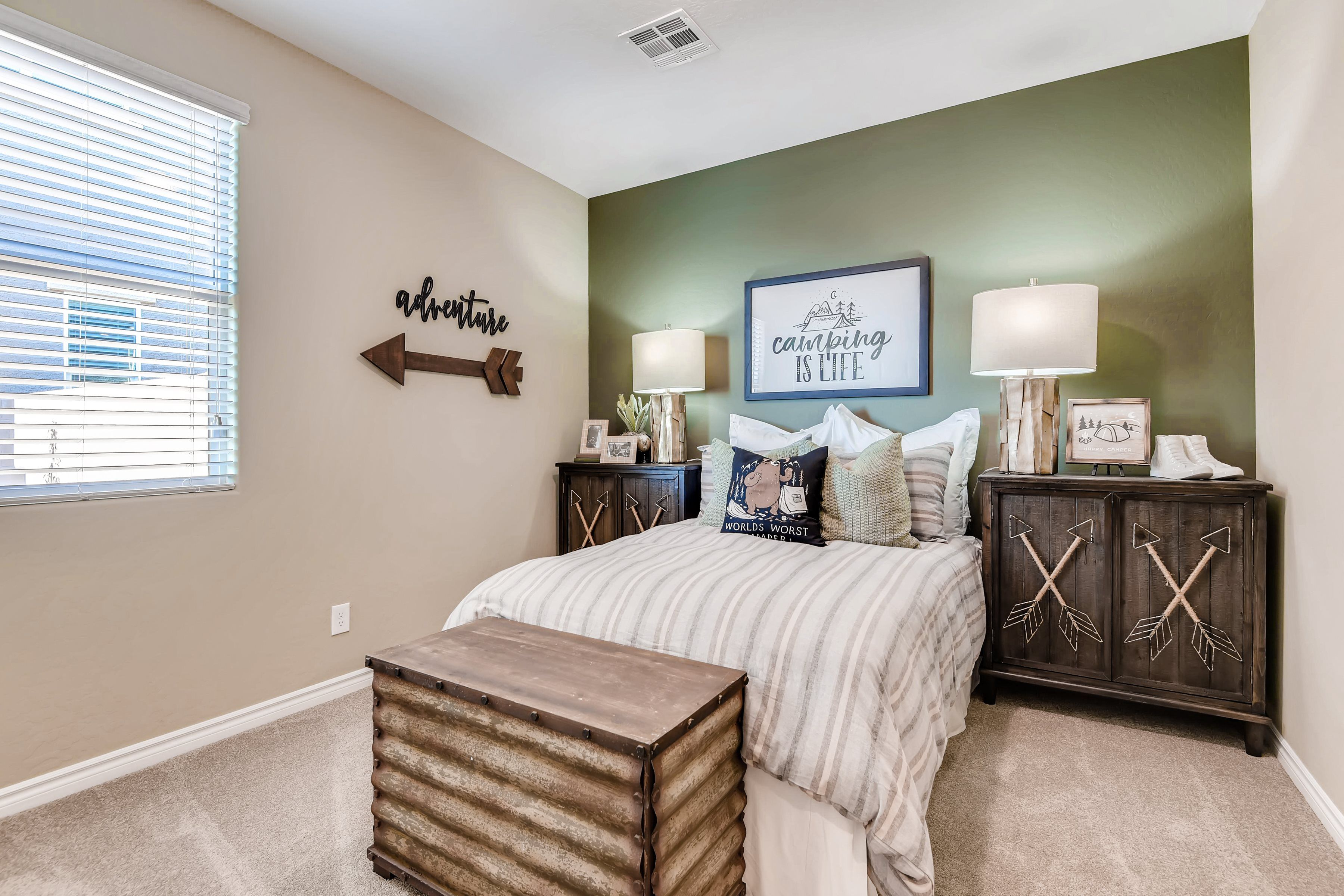 Bedroom featured in the Denali By Lennar in Las Vegas, NV
