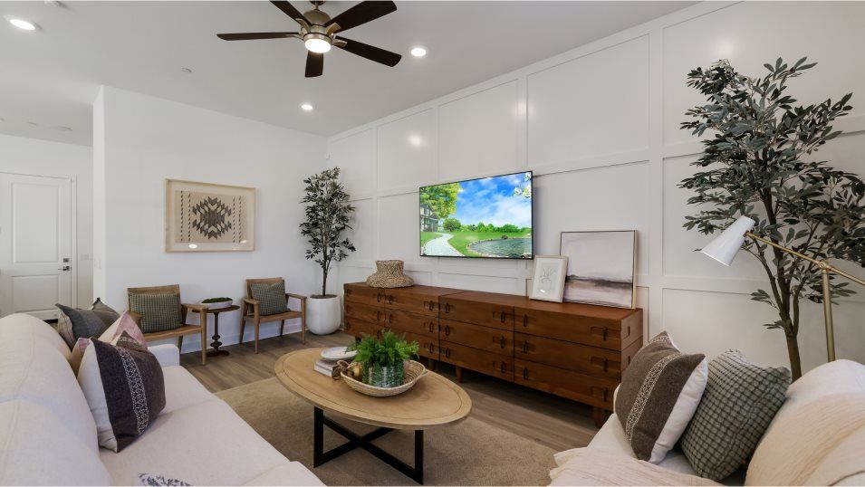Living Area featured in the Marigold 3 By Lennar in Los Angeles, CA