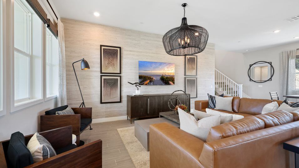 Living Area featured in the Wisteria 3 By Lennar in Los Angeles, CA