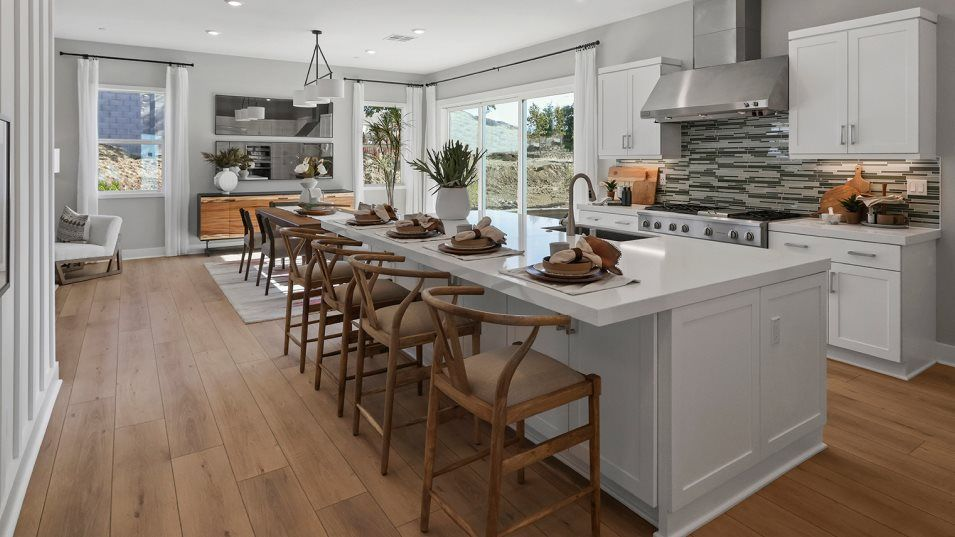 Kitchen featured in the Wisteria 4 By Lennar in Los Angeles, CA