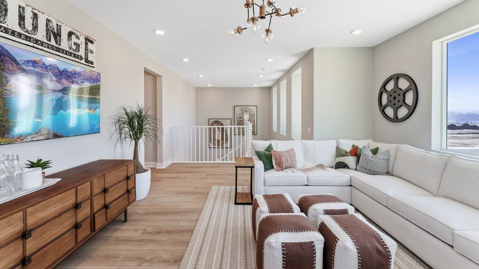 Living Area featured in the Wisteria 4 By Lennar in Los Angeles, CA