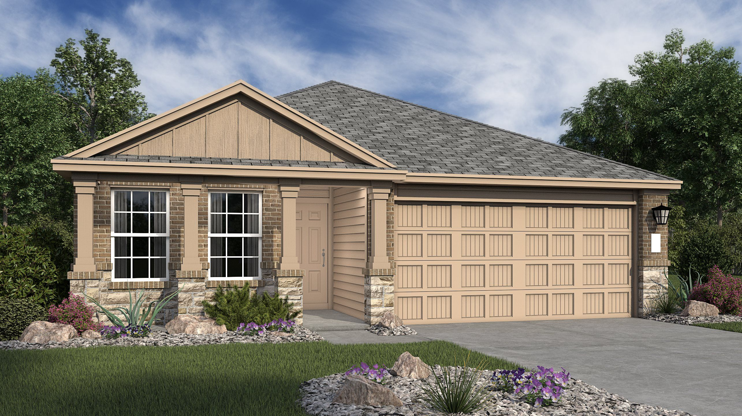 Exterior featured in the Bradwell By Lennar in San Antonio, TX