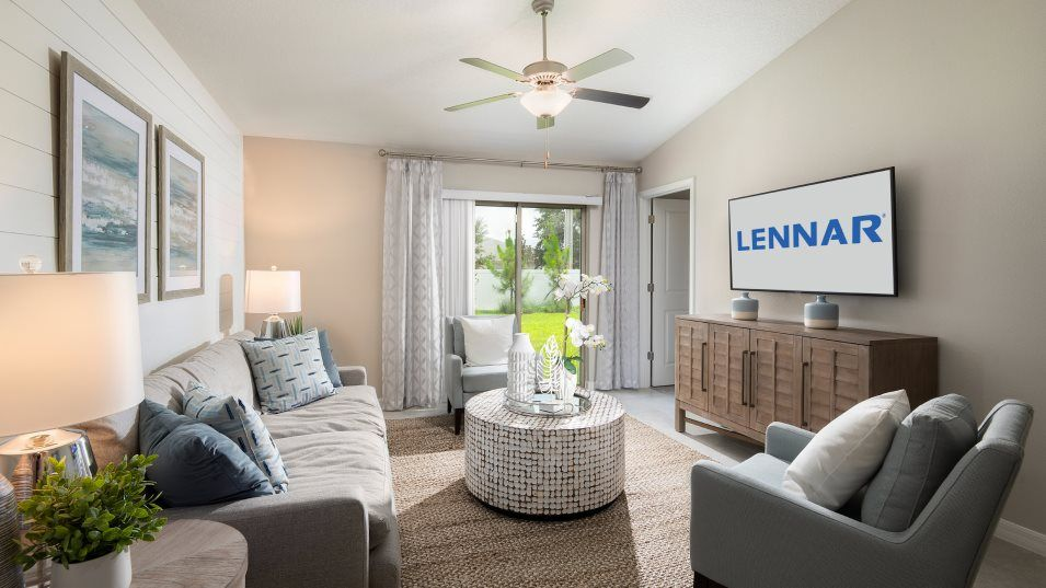 Living Area featured in the Annapolis By Lennar in Tampa-St. Petersburg, FL