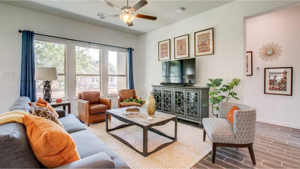 Living Area featured in the Jasper By Lennar in San Antonio, TX