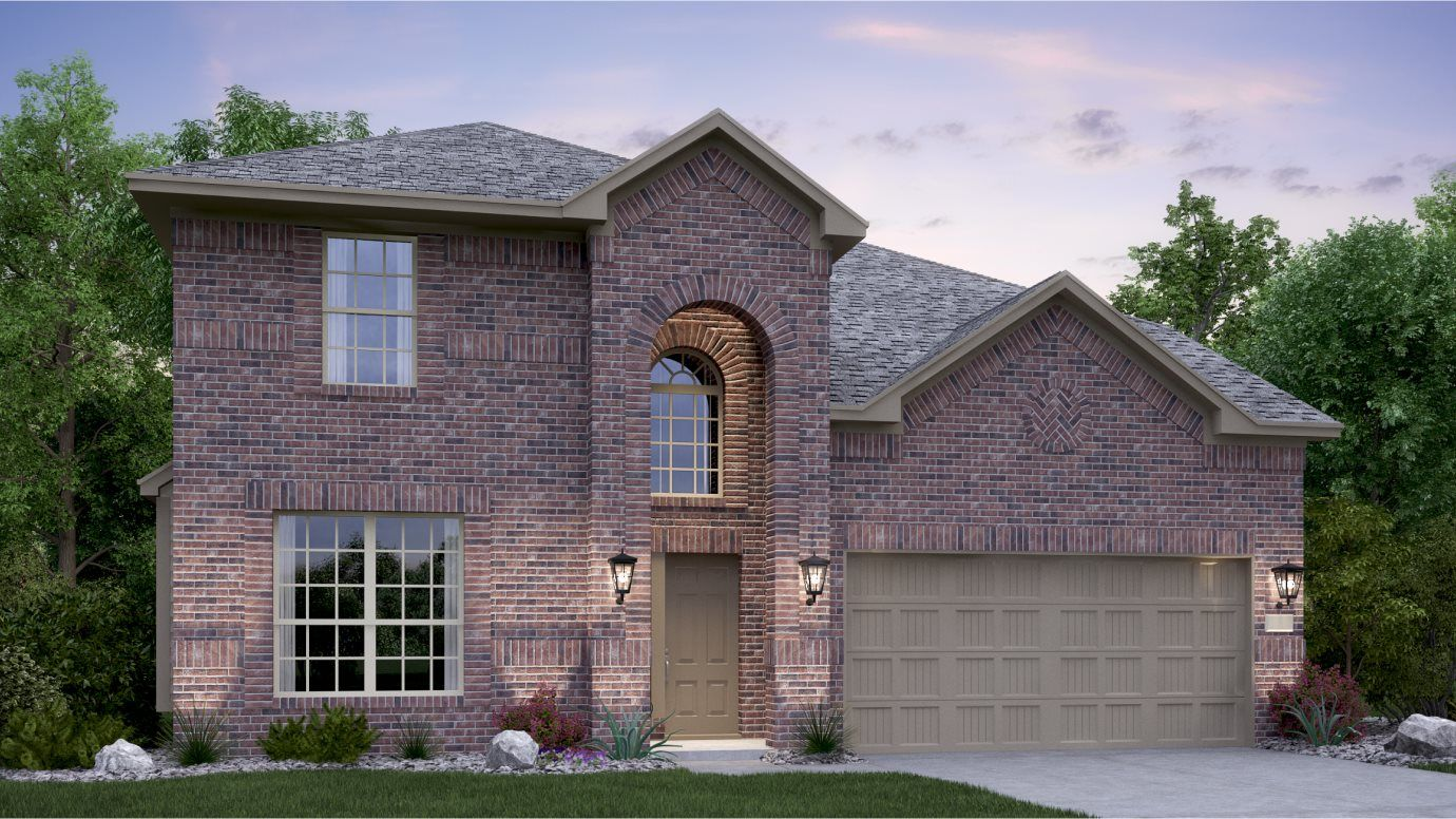 Exterior featured in the Alabaster By Lennar in San Antonio, TX