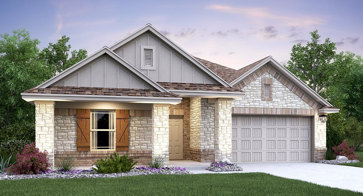 Exterior featured in the Jasper By Lennar in San Antonio, TX