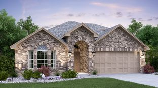 Giallo II with 3rd Car Garage - Devine Lake - Brookstone II Collection: Leander, Texas - Lennar