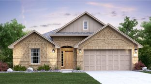 Rosso with 3rd Car Garage - Devine Lake - Brookstone II Collection: Leander, Texas - Lennar