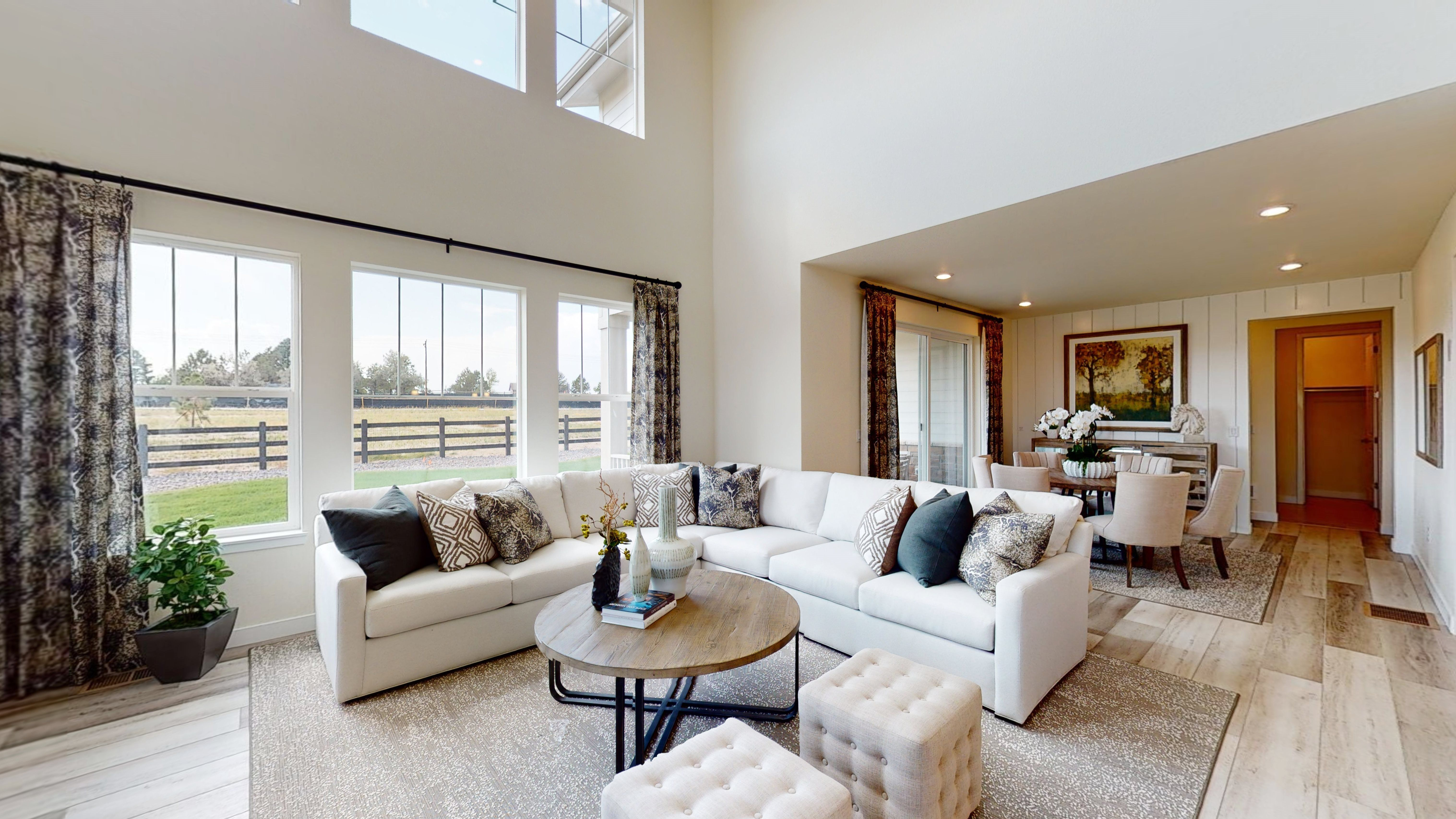 Living Area featured in the Aspen By Lennar in Boulder-Longmont, CO