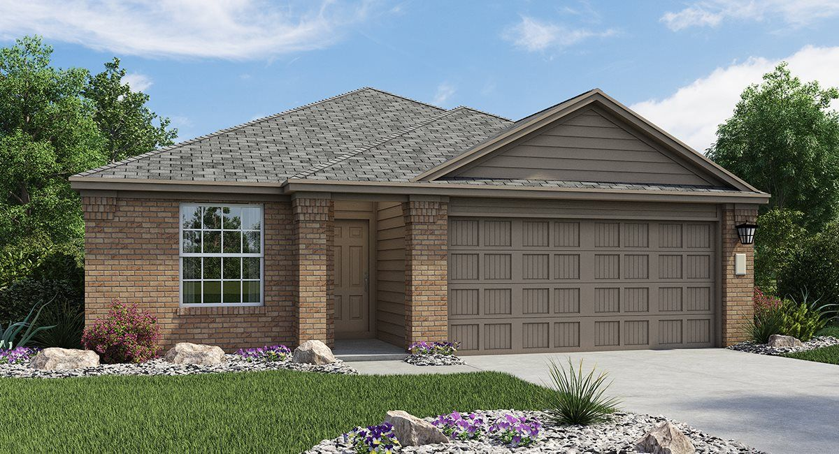 Exterior featured in the Huxley By Lennar in San Antonio, TX