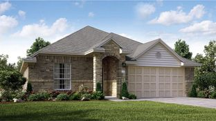 Clover - Ashbel Cove at Baytown Crossings - Wildflower II Collection: Baytown, Texas - Lennar