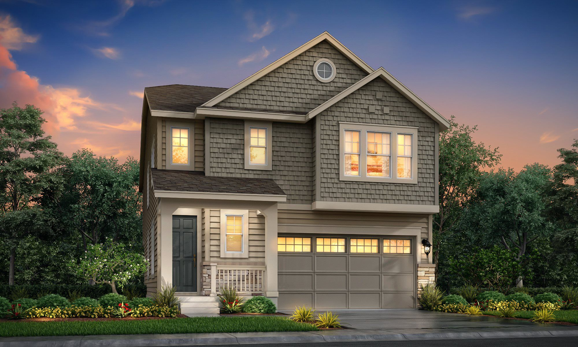Exterior featured in the Peak II By Lennar in Denver, CO