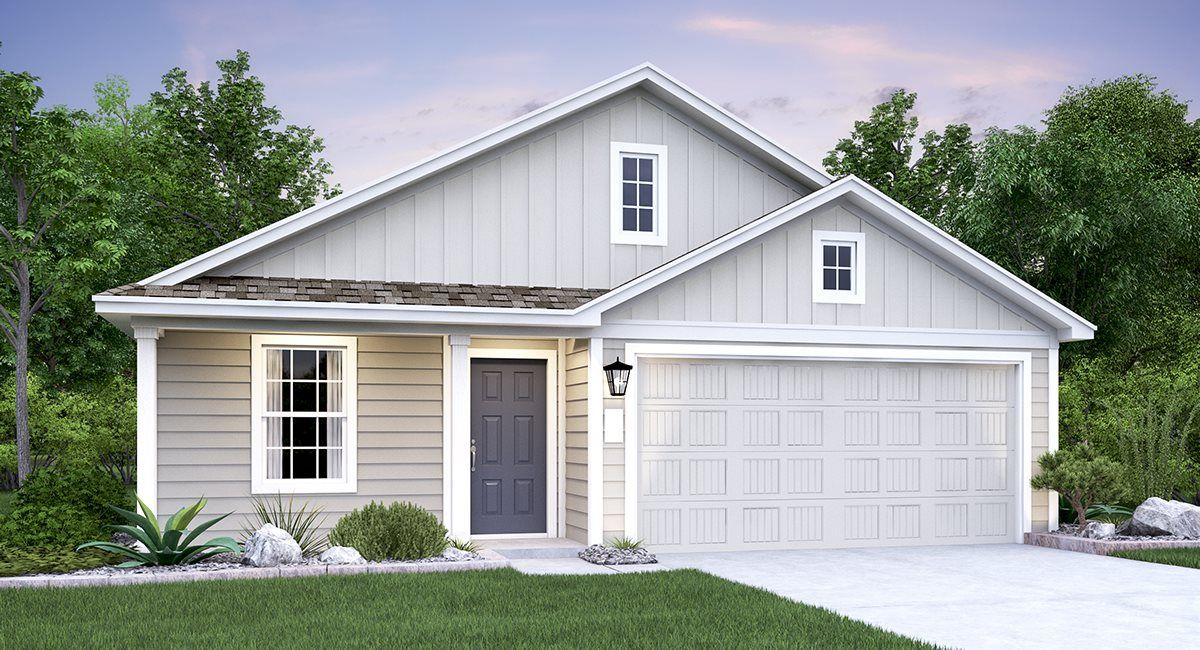 Exterior featured in the Gannes By Lennar in San Antonio, TX