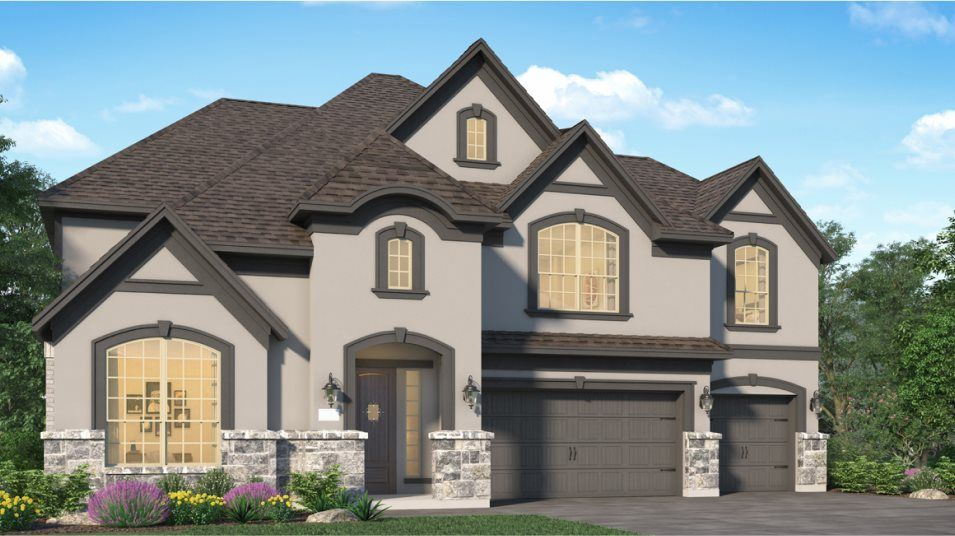 Exterior featured in the Berkshire By Village Builders in Houston, TX