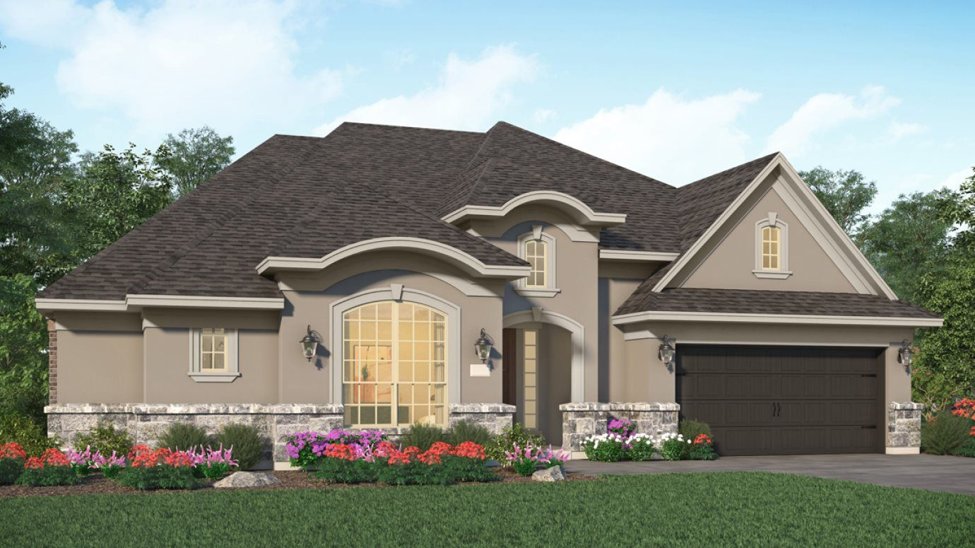 Exterior featured in the Norwalk By Village Builders in Houston, TX